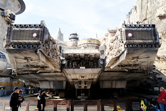 Millennium Falcon. Star Wars Galaxy's Edge at Disneyland California, 2019. Shot on Leica Q2