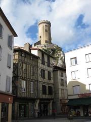 FR11 3460 Le Château de Foix. Foix, Ariège, Midi-Pyrénées