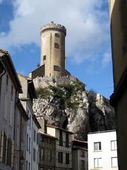 FR11 3458 Le Château de Foix. Foix, Ariège, Midi-Pyrénées