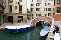 Ponte Canal y Calle Dario, Venecia