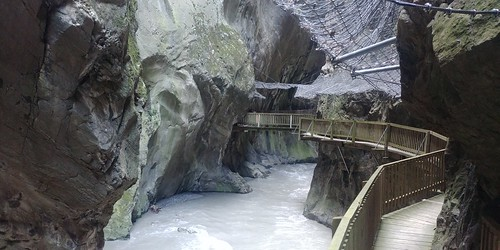 Switzerland June 2019 At The Gorges du Trient Image 498