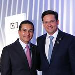 Evento da CNI que concedeu o grande colar da ordem ao mérito ao presidente Jair Bolsonaro - Dezembro/2019