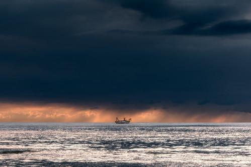Roseto degli Abruzzi, sunrise.