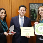 João Roma ganha prêmio concedido pela Frente Parlamentar Mista da Economia Verde - Dezembro/2019