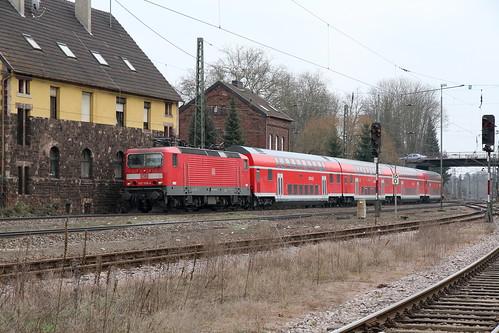 DB Regio 143 568-4 RE1, Bous