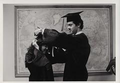 Graduating Students, Commencement circa 1982