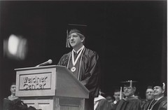 Cory Militzer, Outstanding Student Award, Commencement, Weidner Center, December 1994