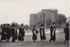Commencement, Masters Candidates, circa 1980s