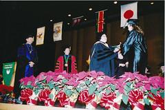 Commencement, Weidner Center, December 2002
