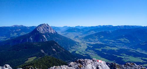 Grimming und Ennstal - Kammspitze über Öfen, Viehbergalm und Miesbodensee am Dachsteinmassiv