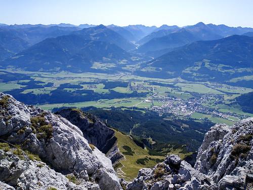 Gröbming - Kammspitze über Öfen, Viehbergalm und Miesbodensee am Dachsteinmassiv