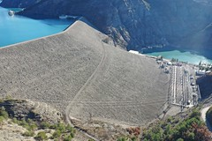 Serre Ponçon Dam, Durance River Basin, France (1) - Photo of Saint-Martin-lès-Seyne