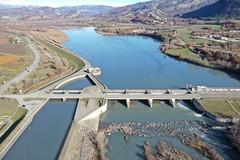 La Saulce dam, Durance River Basin, France (2)