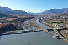 La Saulce dam, Durance River Basin, France (1)