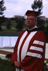 Professor William Laatsch, Commencement, May 1987