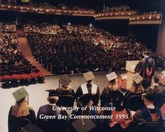 Commencement, Weidner Center, December 1995