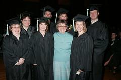 Commencement, Weidner Center, December 2004(4)