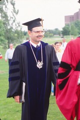 Chancellor David Outcalt, Commencement, May 1987