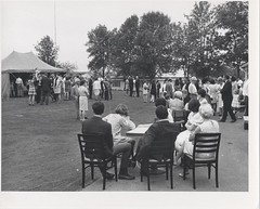 Commencement Reception at Shorewood Club, June 1970