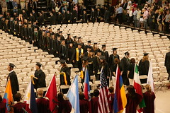 Commencement, Kress Events Center, May 2008