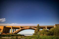 Spencer Creek Bridge at Beverly Beach (long exposure) - Jim Covert