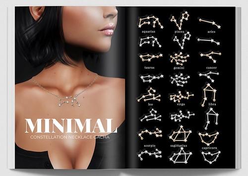 MINIMAL - Constellation Necklaces Gacha