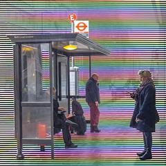 City of London Rainy Day