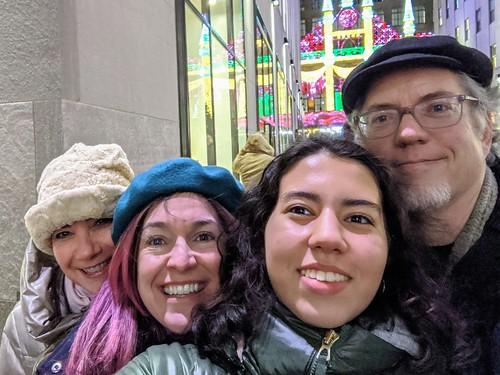 Rockefeller Center Selfie