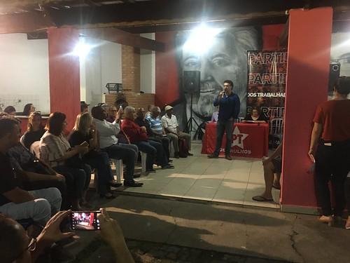 Alencar e Elói unidos pelo PT, por Guarulhos - 12.12.19
