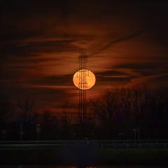 Full Moon rise December 2019