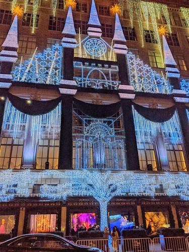 Saks Fifth Avenue Castle