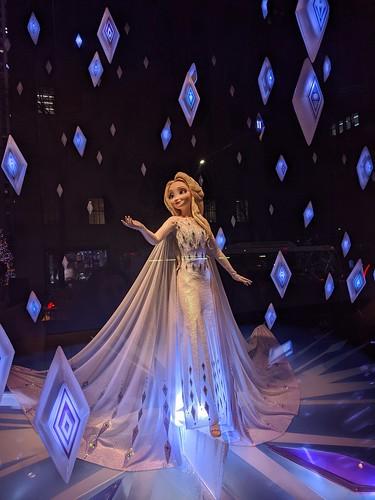 Elsa at Saks Fifth Avenue