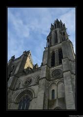Cathédrale Notre-Dame de Senlis- Oise- France.