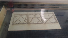 Lasercutting sangaku - Photo of Ennevelin
