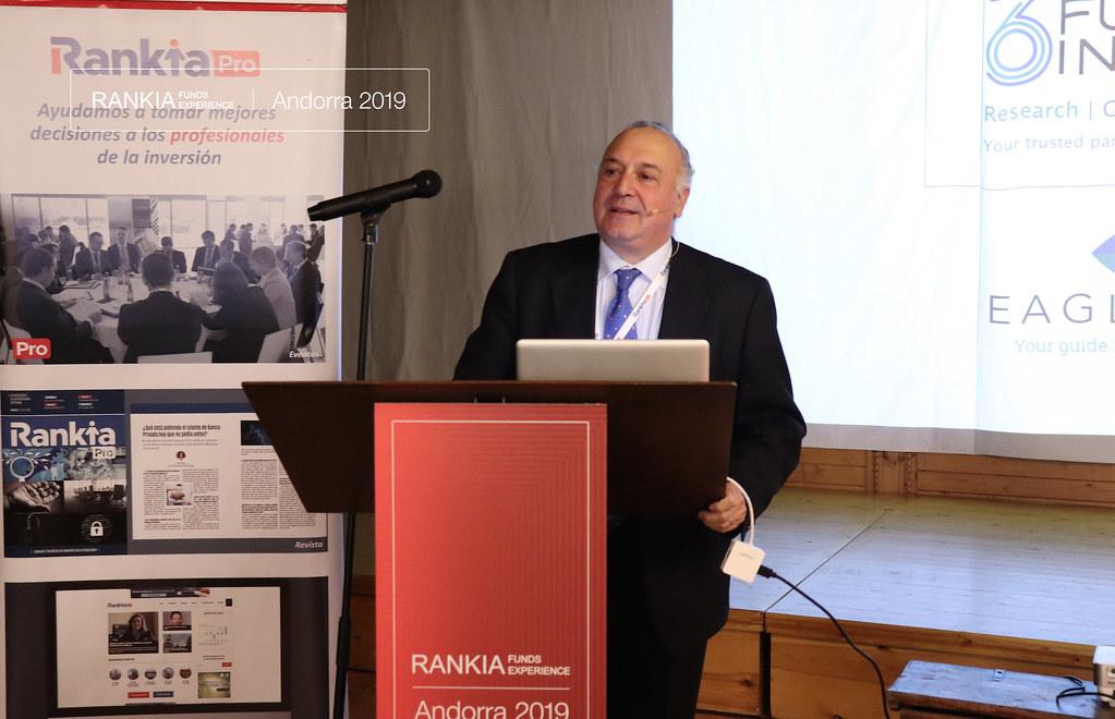 Bernardo Rivero, directivo de 360 FundInsight, inaugura la conferencia de la I Edición de Rankia Funds Experience