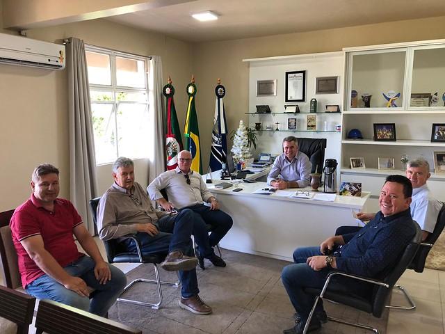 13/12/2019 Visita Prefeitura de Arroio do Tigre