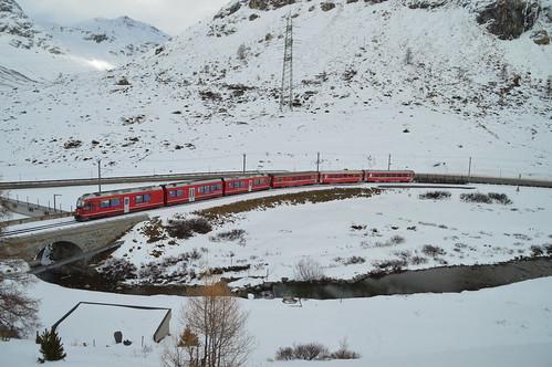 R 1652 Tirano - St. Moritz