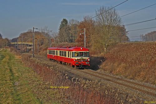 X 4395 TTDA Train de Noël 20003  Epinal-Mulhouse à Carspach