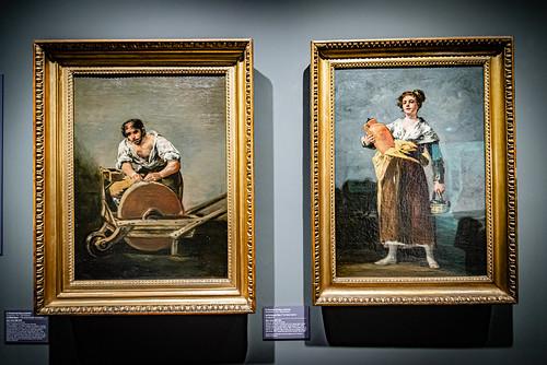 05-Le rémouleur et la porteuse d'eau - Goya (1810)
