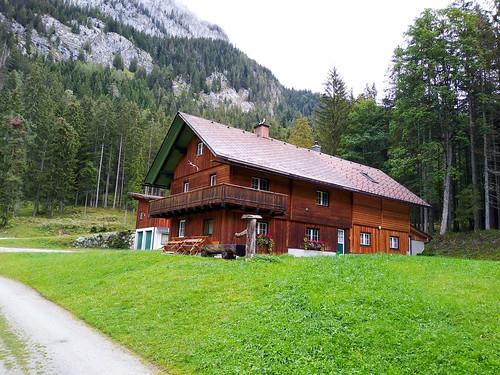 Jagdhütte - Wanderung auf den Kufstein über Gradenbachfall, Ahornsee, Grafenbergsee und Grafenbergalm im Dachsteinmassiv