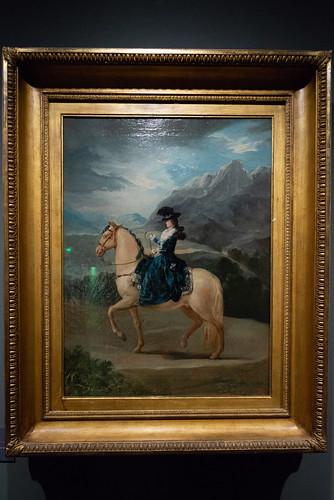 03-Maria Teresa de Vallabriga y Rozas à cheval - 1783