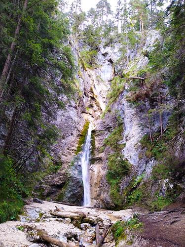 Gradenbachfall - Wanderung auf den Kufstein über Gradenbachfall, Ahornsee, Grafenbergsee und Grafenbergalm im Dachsteinmassiv