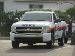 Nassau County Police Department Chevy Silverado