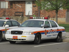Nassau County Police Department Ford Crown Victoria