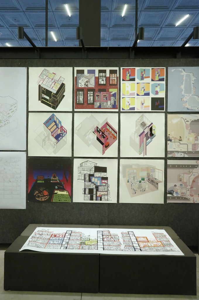 The final review for Exquisite Corpse: A Whole with Many Parts, taught by visiting critics Jimenez Lai and Mark Acciari.