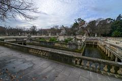 Les anciens bains romains de Nîmes