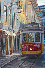 The Number 28 Tram, Lisbon, Portugal