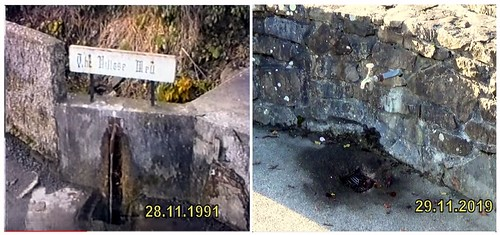 The Village Well Coolaney 1991 & 2019