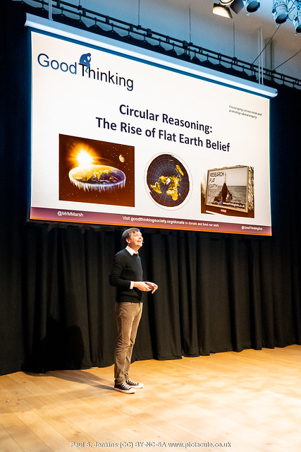 Circular Reasoning: The Rise of Flat Earth Belief - Michael Marshall - Winchester Skeptics 2019-12-12
