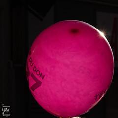 ballon rose - Photo of Saint-Cyr-sur-Mer